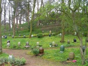 Urnen van Begraafplaats & Crematorium Westerveld te Driehuis