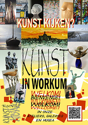 Kunst in Workum flyer