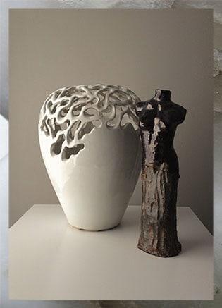 Combi Expositie Koch Pottery - Kunst van Petra