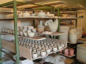 pottenbakkerij productieproces drogen-web