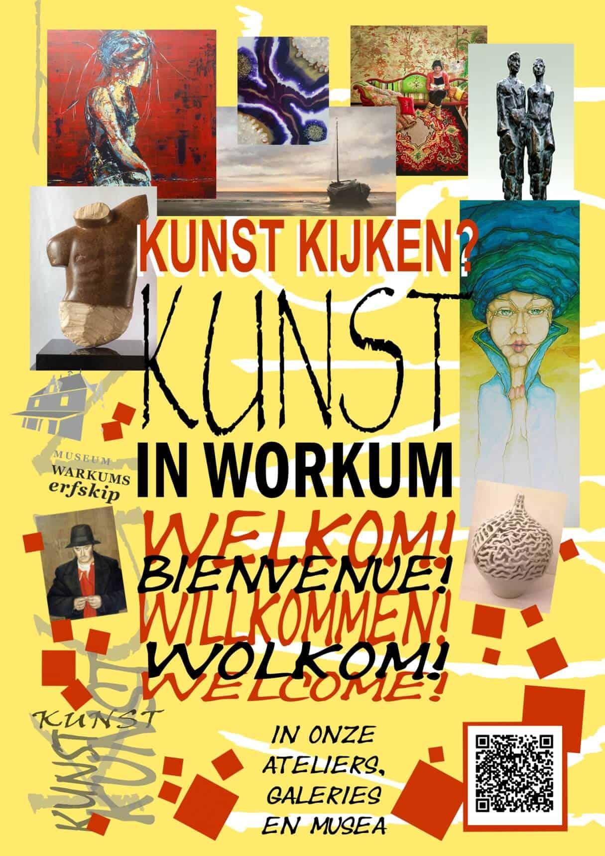 flyer Kunst in Workum 2019