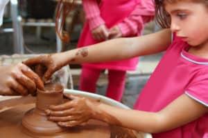 Draaien -kinderen Koch Pottery