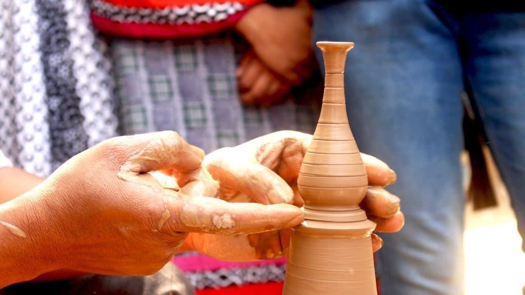Koch Pottery draaiwerk